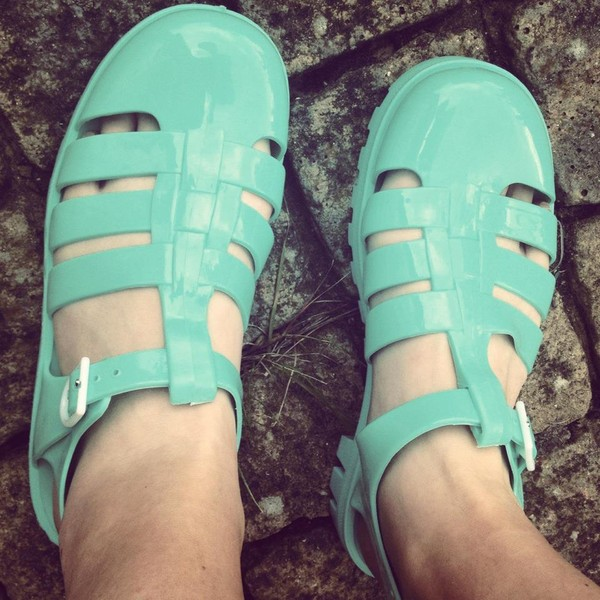 shoes mint sandals clunky chunky 90s style grunge grunge shoes