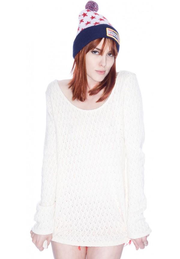 Brandy Melville Isabella Sweater Knit Dress | Dolls Kill