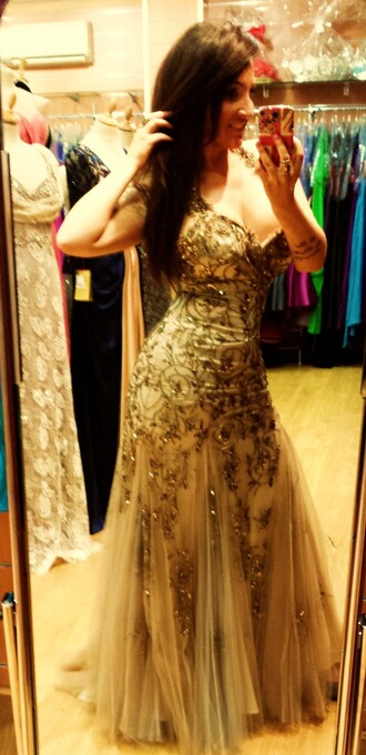 dress prom dress maxi dress strass paillettes l strass