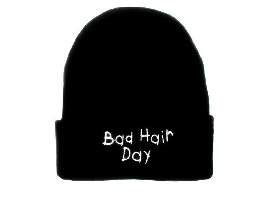 Bad Hair Day Beanie Hat from TheTshirtShop on Storenvy