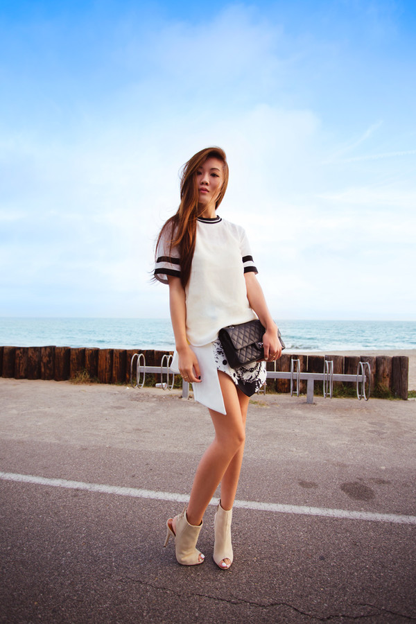 tsangtastic skirt t-shirt tank top jewels shoes bag