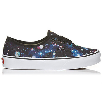 shoes vans nebula galaxy print leopard print multicolor