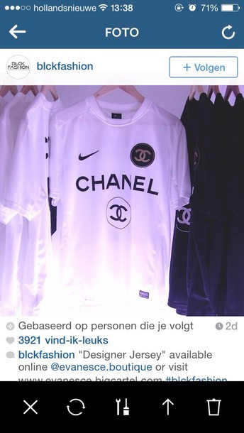 shirt chanel football shirts nike perfect