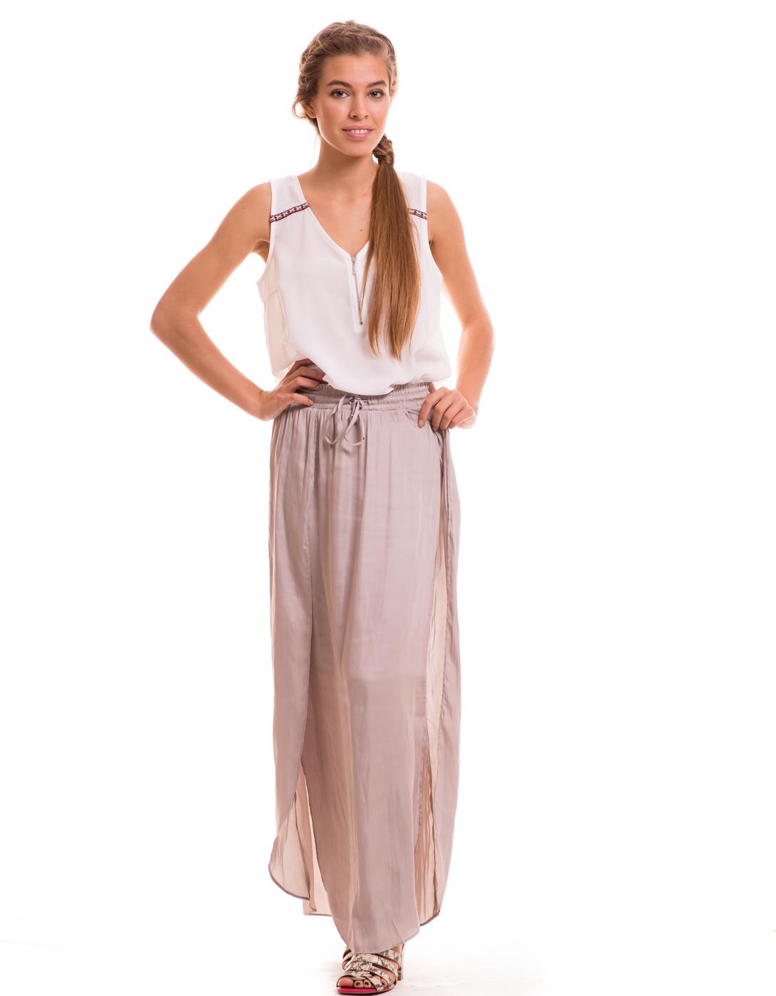 Falda larga Tressi de Vila Clothes