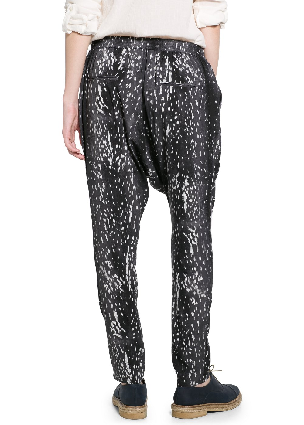 Printed baggy trousers -  							Dresses - 							Women - 							MANGO