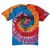 Stussy WT Swirl Tie Dye T-Shirt - Men's - Skate - Clothing - Orange/Black