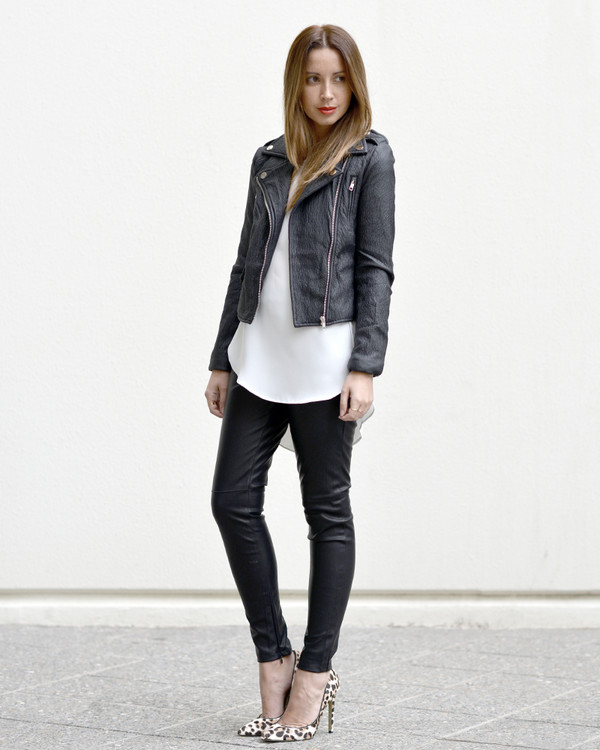 friend in fashion jacket pants shoes