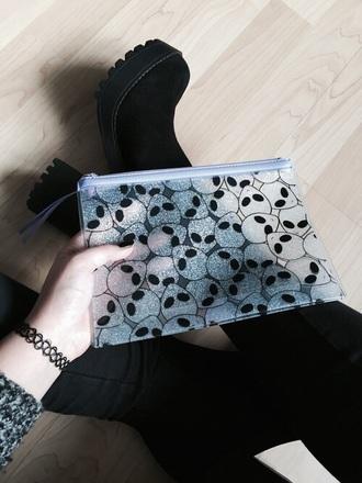 bag alien pencil case