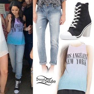 becky g forever 21 purple blue wet seal shoes