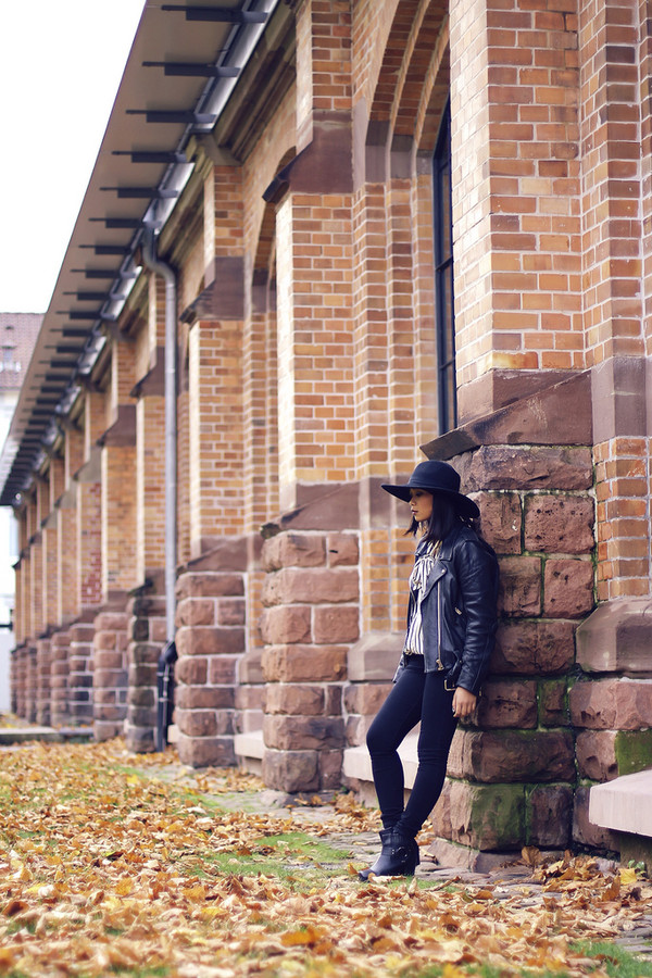 mode junkie blouse jeans jacket hat shoes