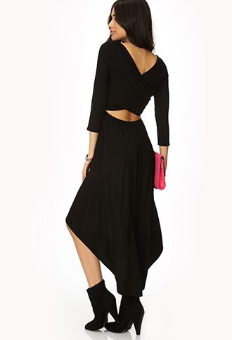 Fancy Crisscross Back Dress | FOREVER21 - 2000110284