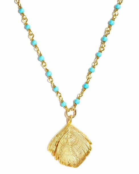 jewels turquoise shell fall out boy chain Pocahontas