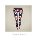 Second Life Marketplace - {Happy Pencil} British flag leggings
