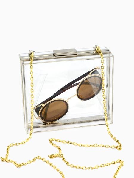 Transparent Acrylic Hard Box Bag | Choies