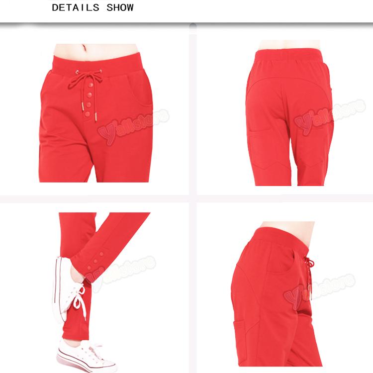 Womens Casual Fleece sweat Harem Hip Hop Pants Sports Trousers Sizes L Y 45   eBay