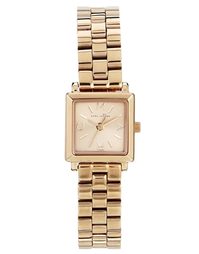 Pink | Marc By Marc Jacobs Katherine Rose Gold & Pink Watch at ASOS