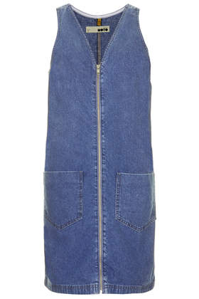 MOTO Vintage Wash Denim Shift Dress - View All Sale - Sale & Offers - Topshop