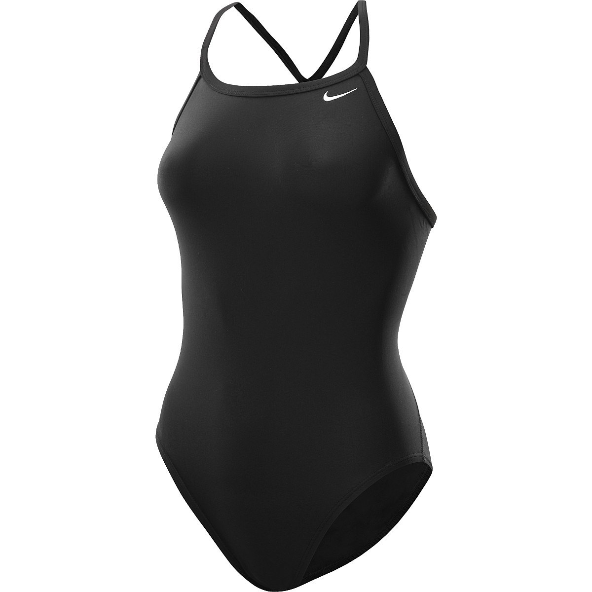 NIKE Women's Core Solid Lingerie Tank One-Piece Swimsuit - SportsAuthority.com
