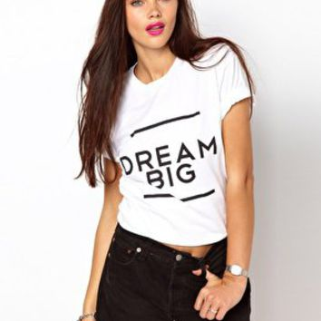Brashy Couture Dream Big T-Shirt at asos.com on Wanelo