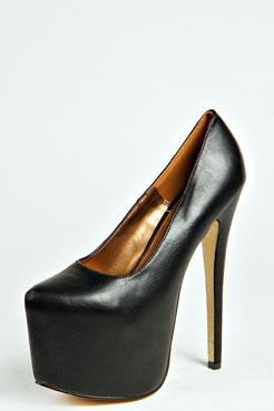 Foxy Glitter Sole Super High Extreme Platform Heels at boohoo.com