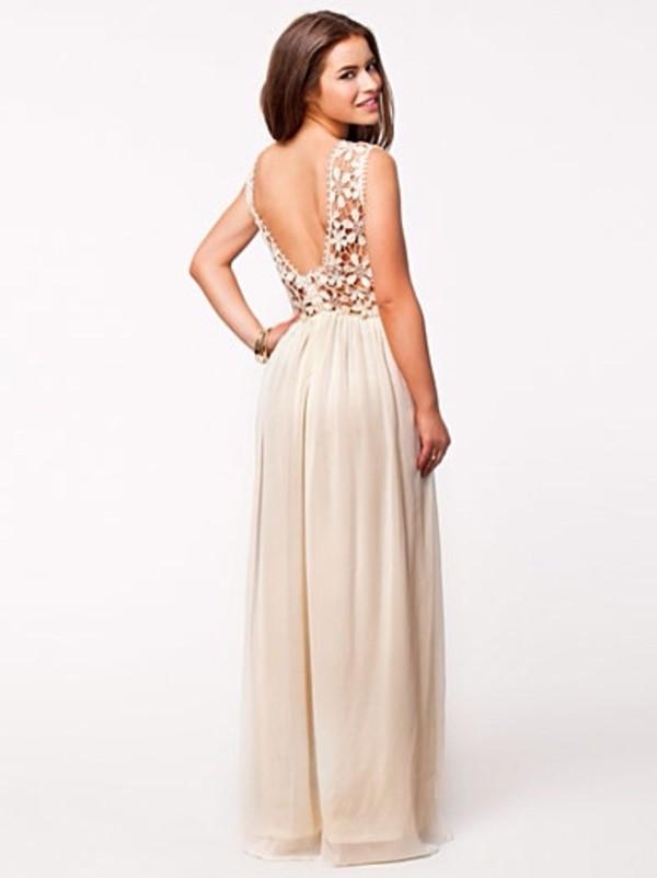 dress maxi dress prom dress beige dress crochet top crochet maxi dress white crochet dress
