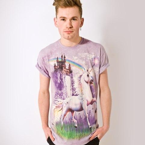 Unicorn Castle T-Shirt - buy at Firebox.com
