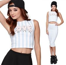 Kendall & Kylie PacSun Love Cropped Tank Top Size M