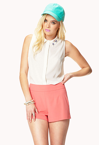 High-Waisted Shorts   FOREVER21 - 2024269832