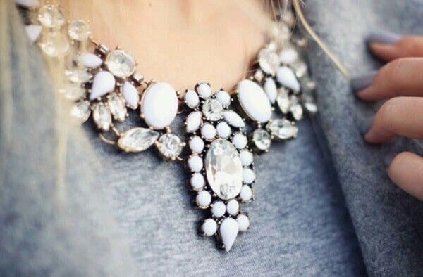jewels statement necklace necklace