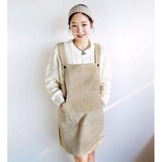 dress lana para overalls corduroy