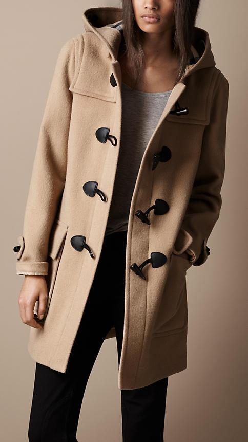 Wool Duffle Coat   Burberry