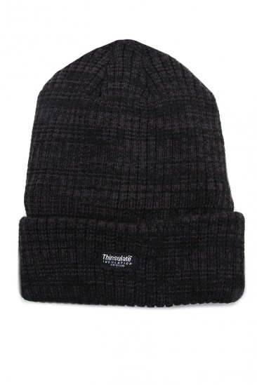 OMG Light Weight Dark Gray Band Beanie