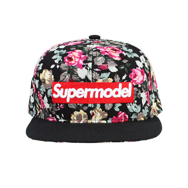 I'm A Supermodel Floral Hat | Vanity Row