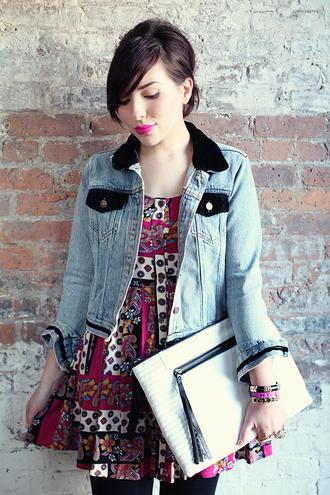 jewels dress jacket bag keiko lynn sunglasses