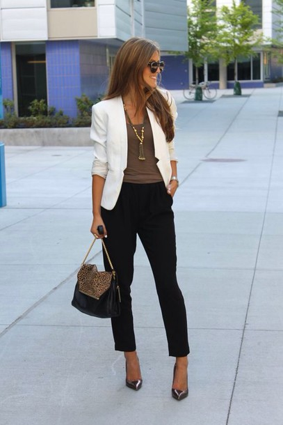 jacket white blazer white jacket