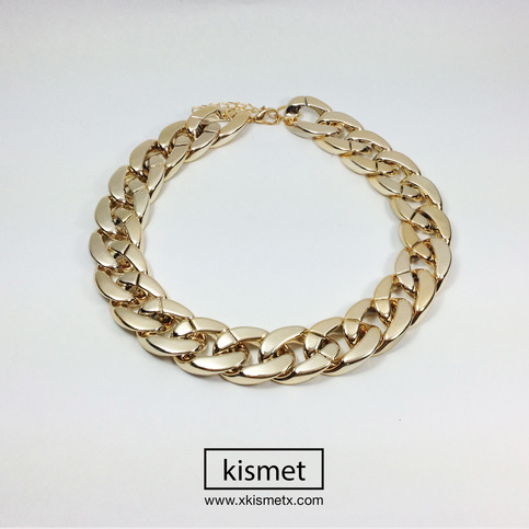 Thick Gold Chain Necklace · kismet · Online Store Powered by Storenvy
