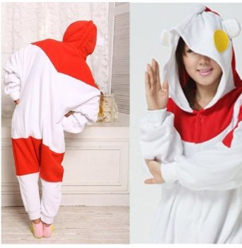 Samgu-animal Pyjama Pajamas Onesie Cospaly Party Fleece Costume Deguisement Adulte Unisexe: Amazon.fr: Vêtements et accessoires