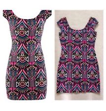 Aztec H&M Bodycon Dress Size UK 8 BNWT | eBay