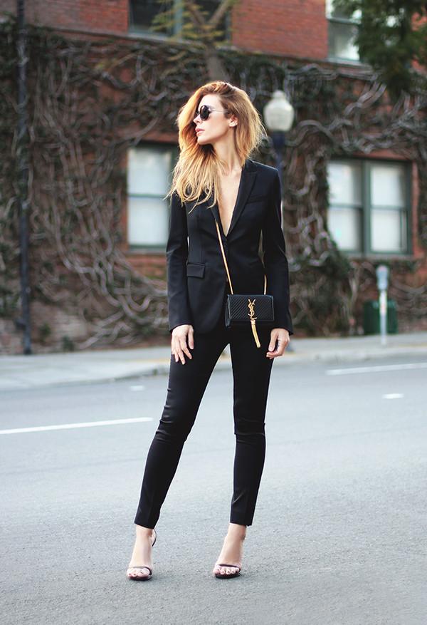 sunglasses jacket bag pants shoes