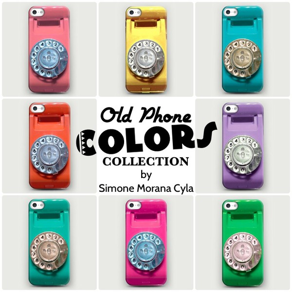 jewels fashion iphone case colorsful girly vintage