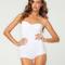 Buy motel hillary strapless body in white at motel rocks