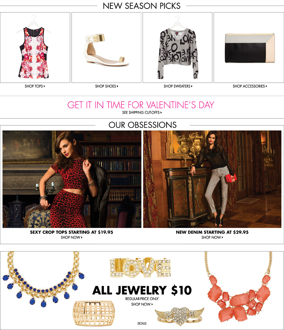2b | Affordable, Fun & Flirty Fashion. Dresses, Tops, Jeans, Shoes & More