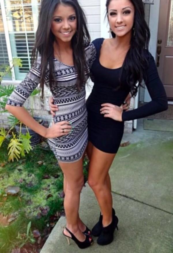 dress short party dresses little black dress black