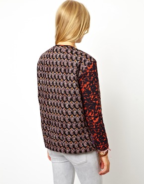 ASOS | ASOS Jacket in Print with Patch Pockets at ASOS