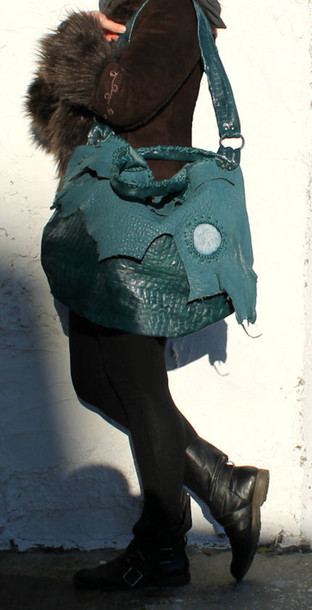 bag green tote green leather hobo oversized leather bag sweet smoke bag green croc leather bag green leather green bag