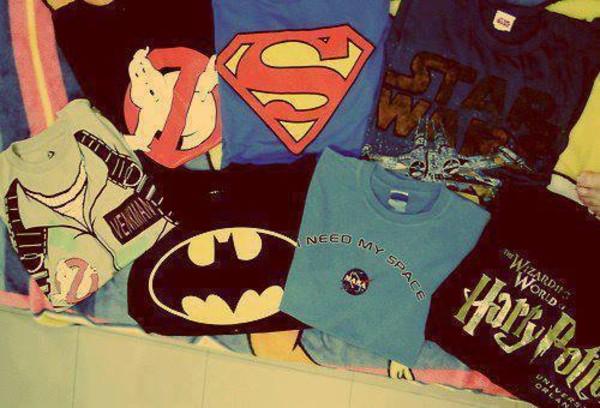 t-shirt shirt superman harry potter batman star wars
