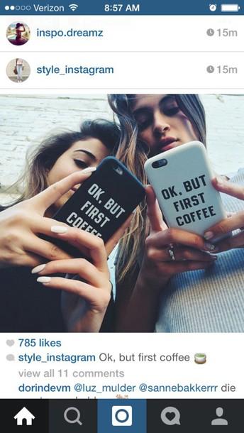 phone cover coffee
