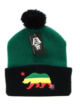 rasta pom pom beanie winter swag hat blouse