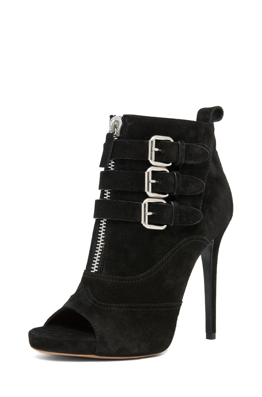 Tabitha Simmons|Eva Suede Booties in Black