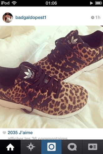 shoes basket adidas style cute adidas shoes leopard print